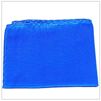 Paul Malone Silk Pocket Square, Solid Royal Blue